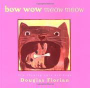 BOW WOW MEOW MEOW by Douglas Florian
