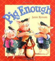 Cover art for PIG ENOUGH