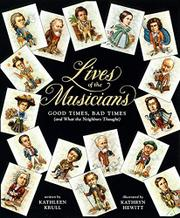 Cover art for LIVES OF THE MUSICIANS