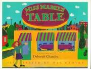 MISS MABEL'S TABLE by Deborah Chandra