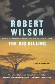 Book Cover for THE BIG KILLING