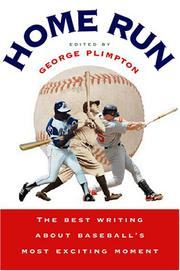Book Cover for HOME RUN