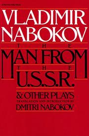 MAN FROM THE USSR & OTHER PLAYS by Vladimir Nabokov