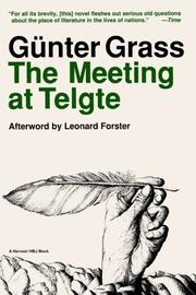 THE MEETING AT TELGTE by Gunter Grass