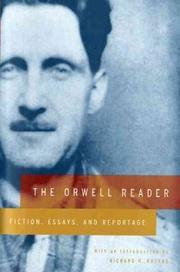 Book Cover for THE ORWELL READER