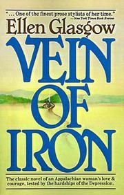 VEIN OF IRON by Ellen Glasgow