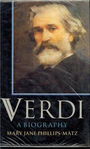 VERDI by Mary Jane Phillips-Matz