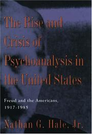 FREUD AND THE AMERICANS by Jr. Hale