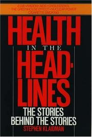 Cover art for HEALTH IN THE HEADLINES