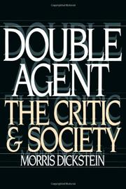 DOUBLE AGENT by Morris Dickstein