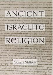 ANCIENT ISRAELITE RELIGION by Susan Niditch
