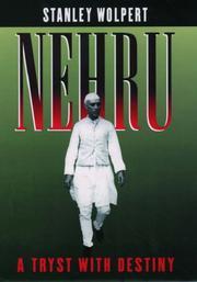 NEHRU by Stanley Wolpert