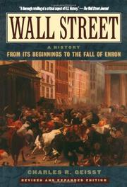 WALL STREET: A History by Charles Geisst