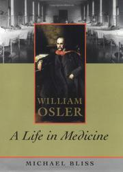 WILLIAM OSLER by Michael Bliss