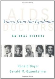 AIDS DOCTORS by Ronald Bayer