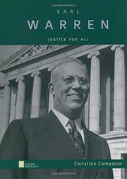 EARL WARREN by Christine L. Compston
