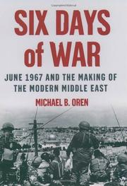 SIX DAYS OF WAR by Michael B. Oren