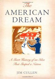 Cover art for THE AMERICAN DREAM