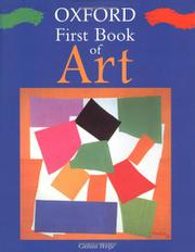 OXFORD FIRST BOOK OF ART by Gillian Wolfe