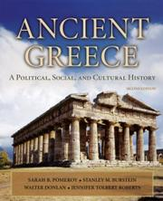 """ANCIENT GREECE: A Political, Social and Cultural History"" by Sarah B. et al. Pomeroy"