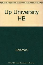 UP THE UNIVERSITY by Robert Solomon