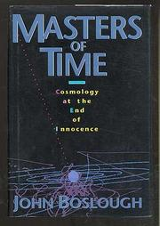 MASTERS OF TIME by John Boslough