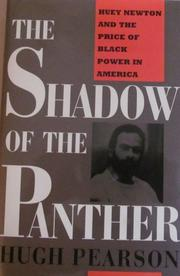 THE SHADOW OF THE PANTHER by Hugh Pearson