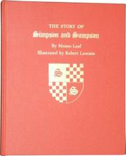 THE STORY OF SIMPSON AND SAMPSON by Munro Leaf