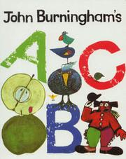 Cover art for JOHN BURNINGHAM'S ABC
