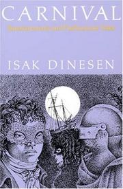 CARNIVAL by Isak Dinesen