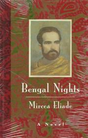 BENGAL NIGHTS by Mircea Eliade
