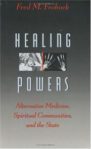 HEALING POWERS by Fred M. Frohock