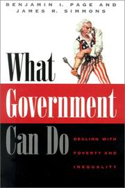WHAT GOVERNMENT CAN DO by Benjamin I. Page