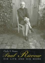 PAUL RICOEUR by Charles E. Reagan