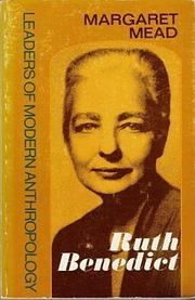 Cover art for RUTH BENEDICT