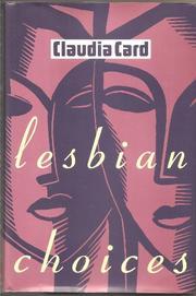 LESBIAN CHOICES by Claudia Card
