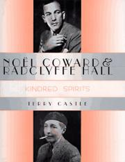 Cover art for NOEL COWARD AND RADCLYFFE HALL