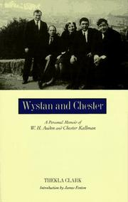 WYSTAN AND CHESTER by Thekla Clark