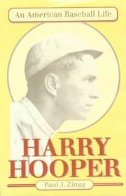 HARRY HOOPER by Paul J. Zingg