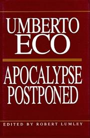 APOCALYPSE POSTPONED by Umberto Eco