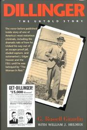 DILLINGER by G. Russell Girardin