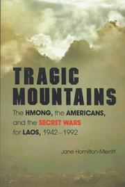 TRAGIC MOUNTAINS by Jane Hamilton-Merritt