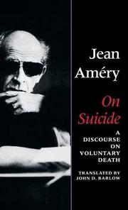 ON SUICIDE by Jean Améry