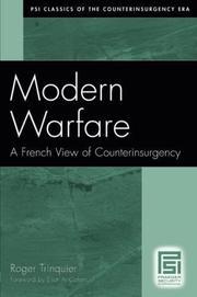 MODERN WARFARE by Roger Trinquier