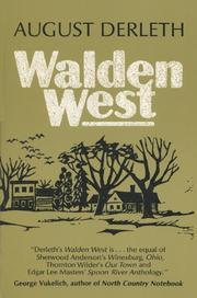 WALDEN WEST by August Derleth