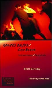 GOLPES BAJOS/LOW BLOWS by Alicia Borinsky