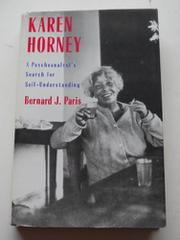 KAREN HORNEY by Bernard J. Paris