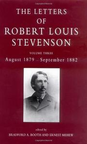 THE COLLECTED LETTERS OF ROBERT LOUIS STEVENSON by Robert Louis Stevenson