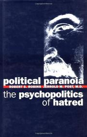 Cover art for POLITICAL PARANOIA