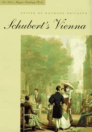SCHUBERT'S VIENNA by Raymond Erickson